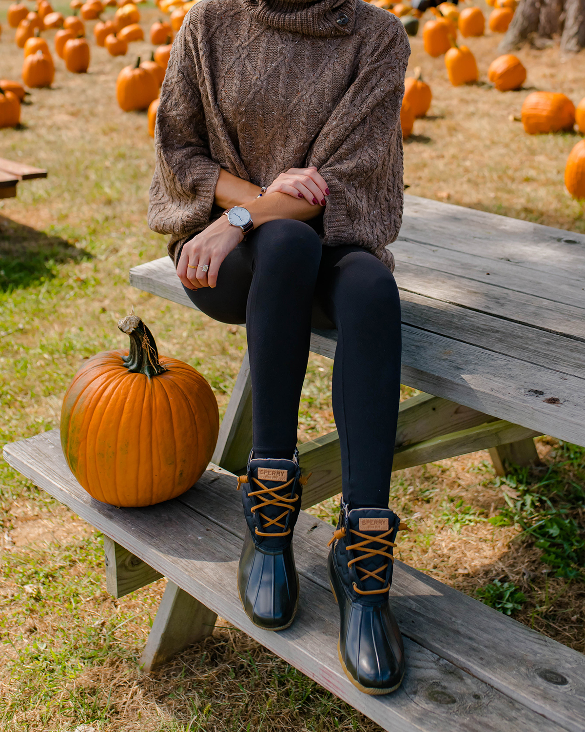 Sperry Saltwater Quilted Chevron Duck Boots