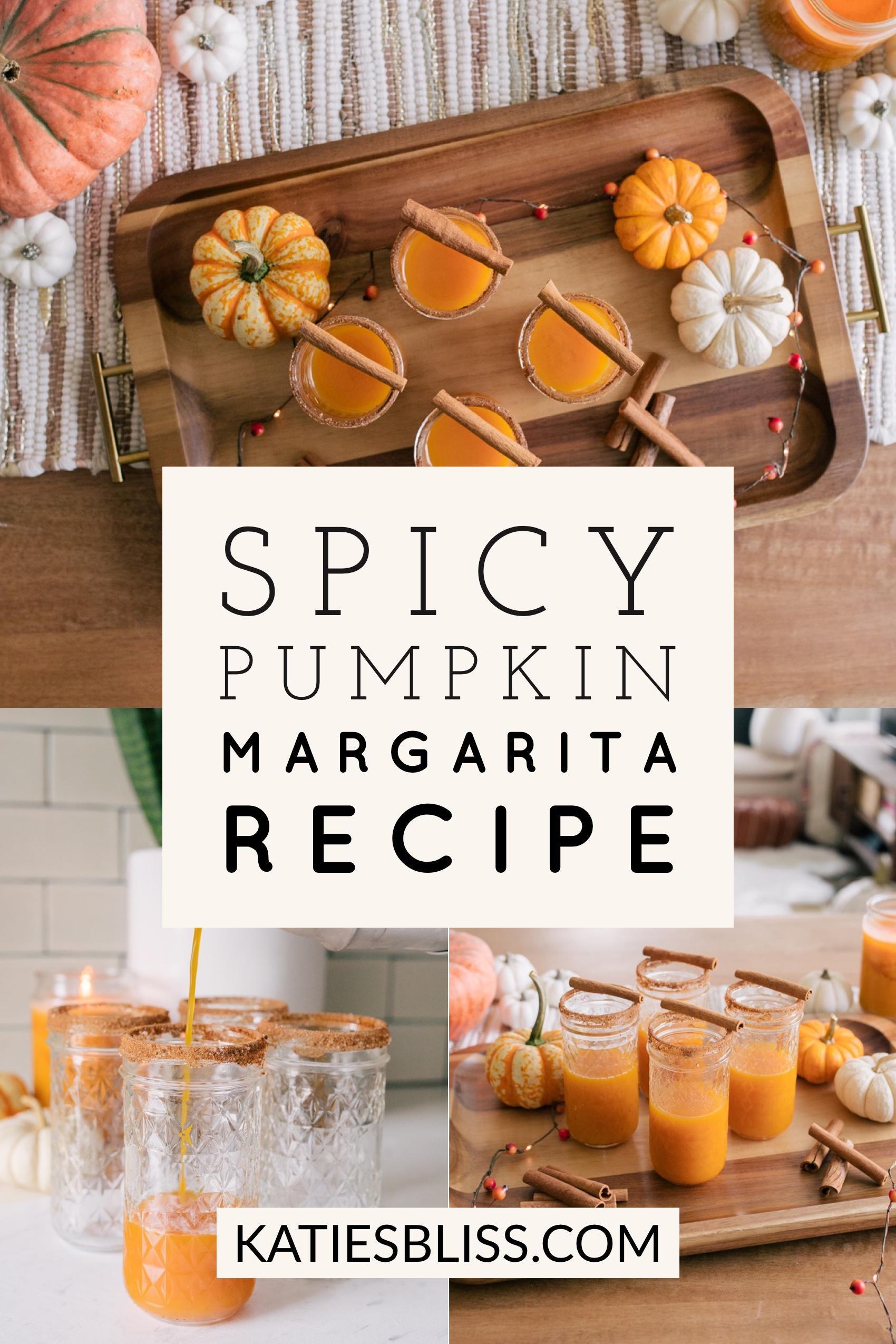 Spicy Pumpkin Margarita Recipe
