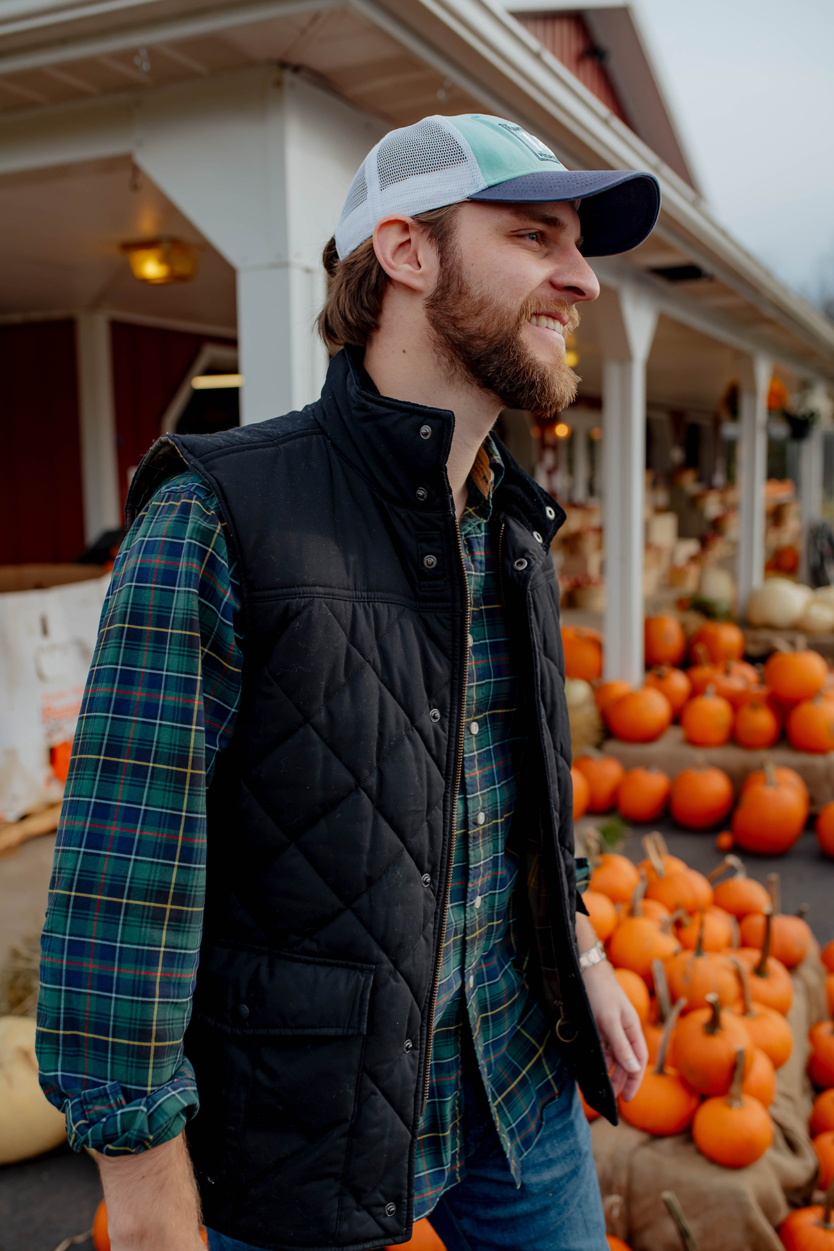 Mens Quilted Barbour Vest