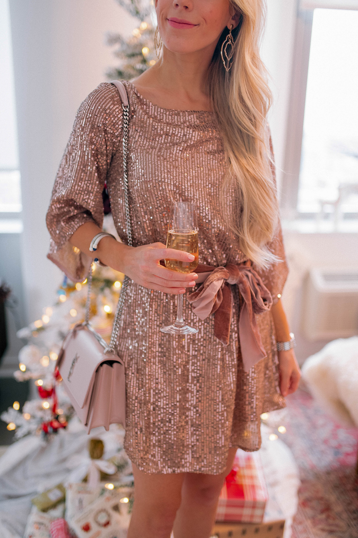 Anthropologie Sequin Dress