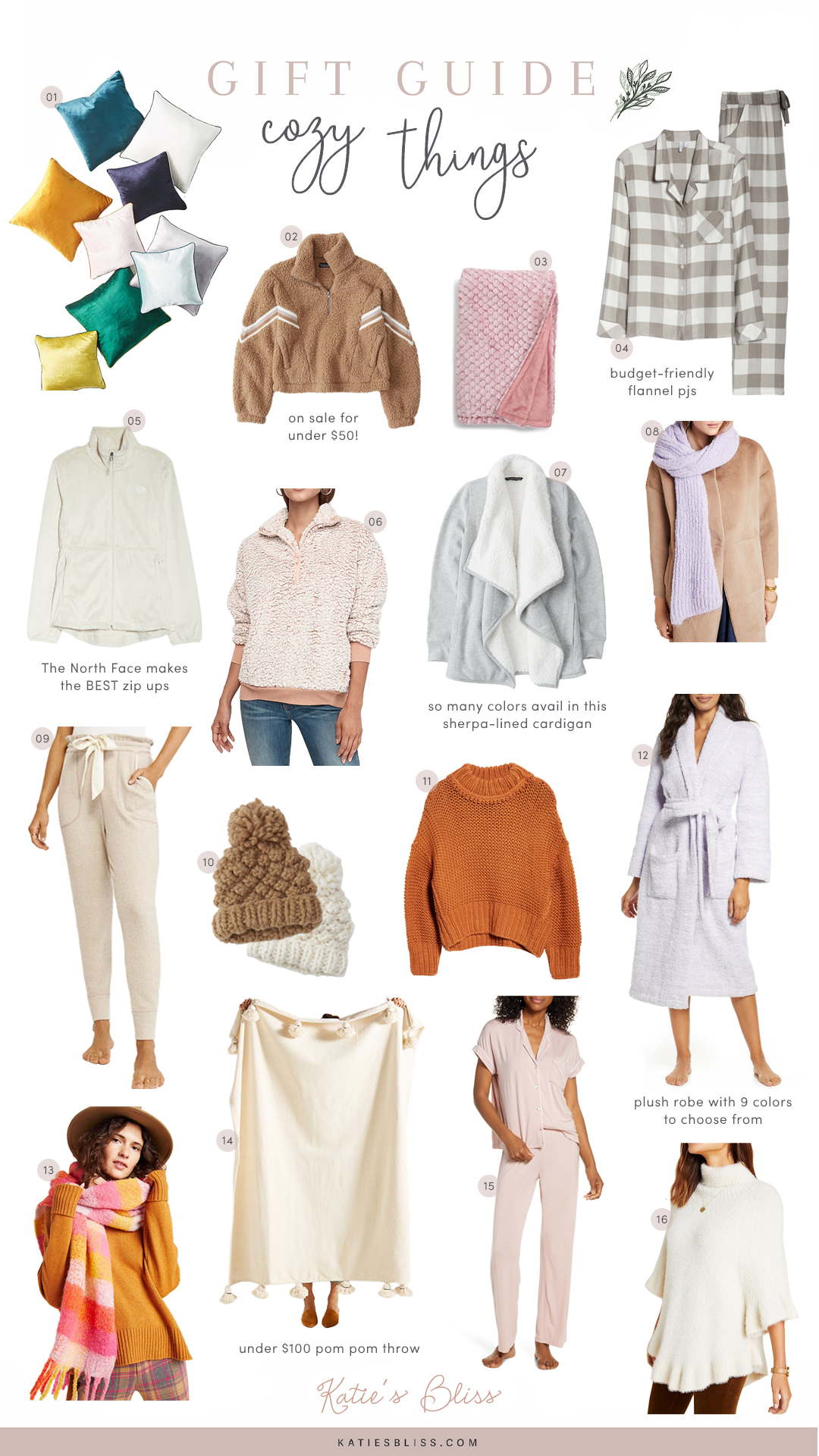 Cozy Holiday Gift Guide 2019