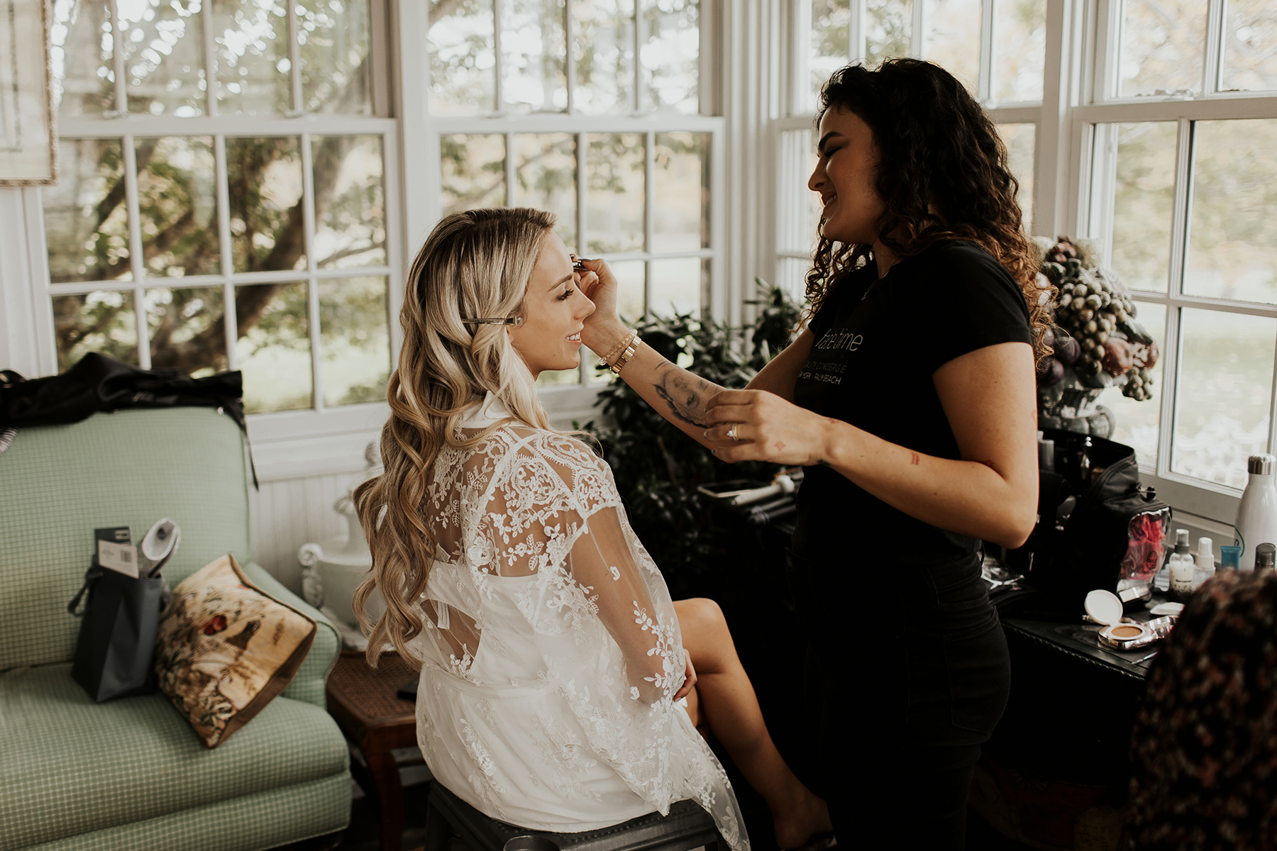 Katies Bliss Wedding Getting Ready Photos