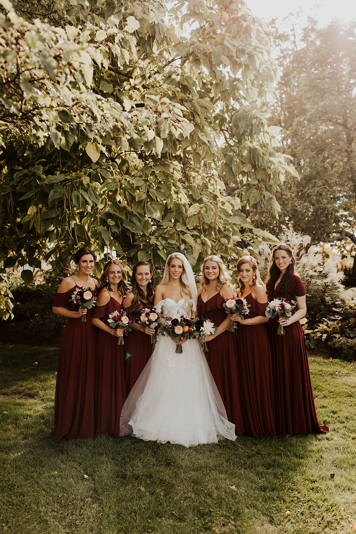 Katies Bliss Wedding Bridesmaids Gowns