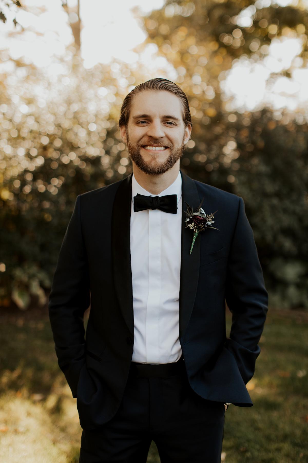 Katies Bliss Wedding Groom Portraits