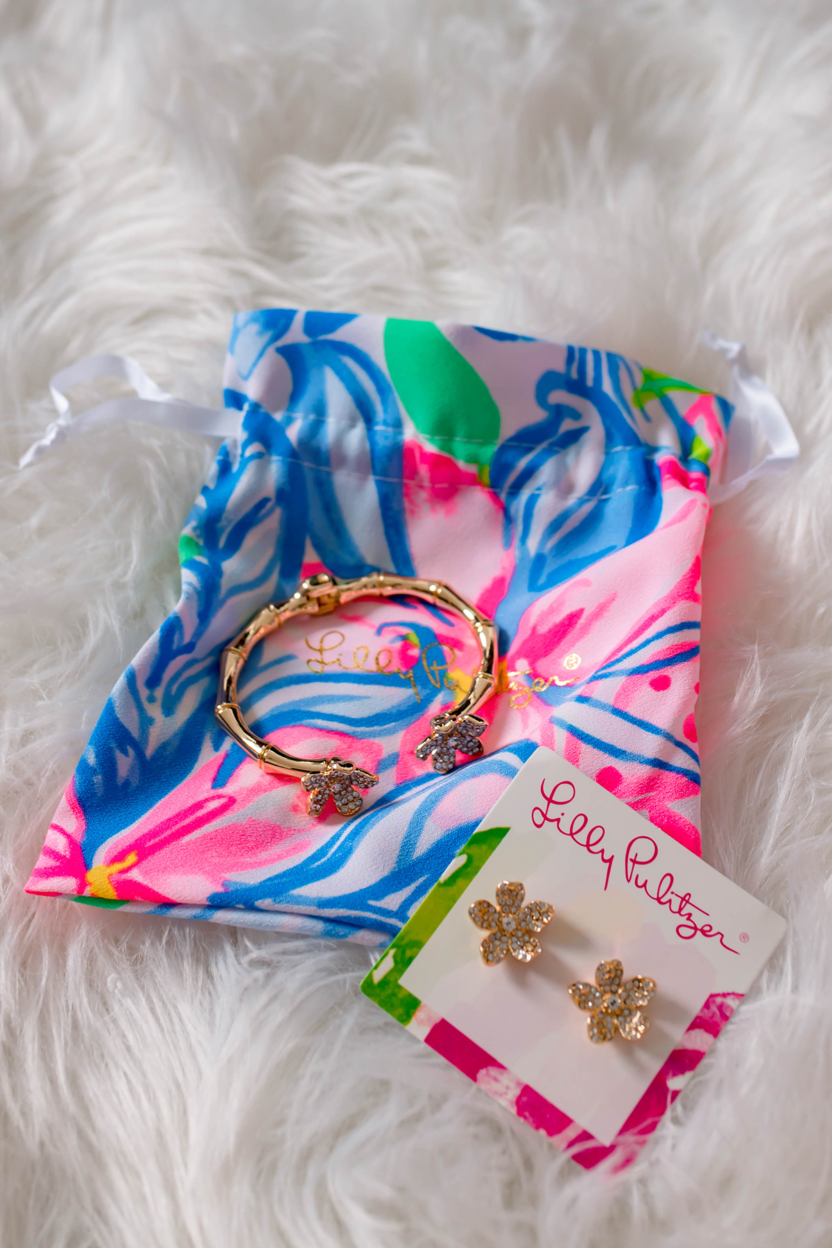 Lilly Pulitzer Beach Club Blooms Earrings