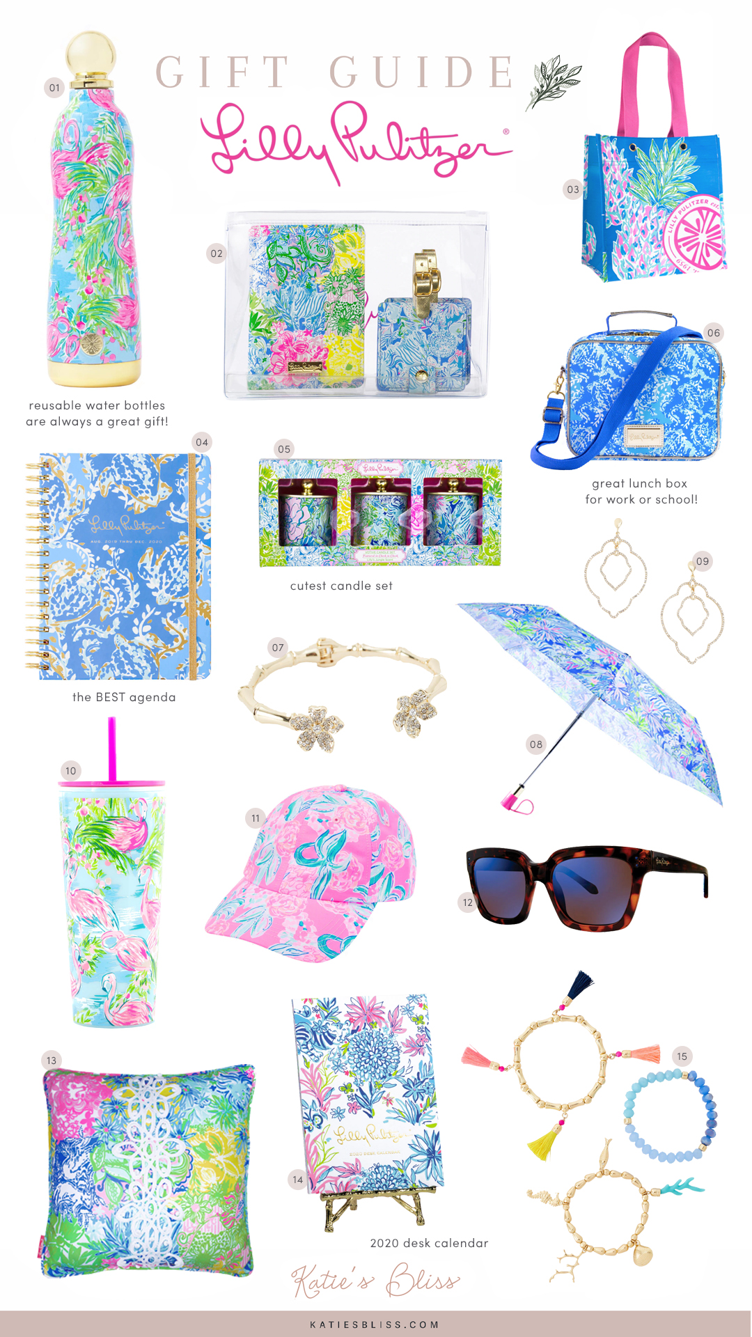 Lilly Pulitzer Holiday Gift Guide 2019