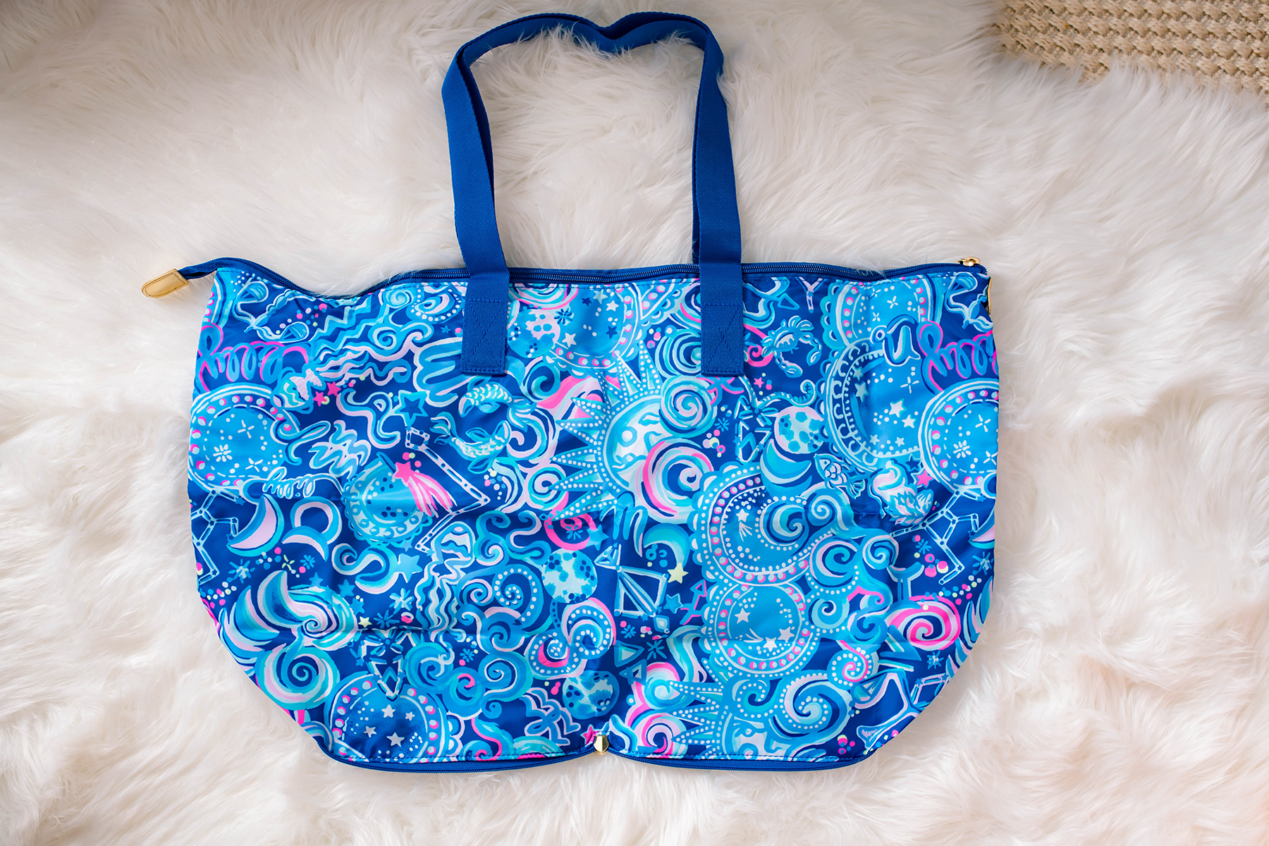 Lilly Pulitzer Packable Travel Tote