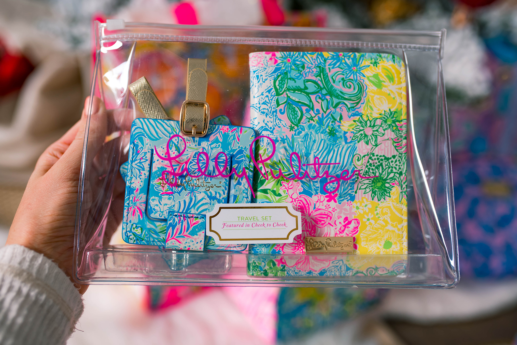 Lilly Pulitzer Passport Case and Luggage Tag