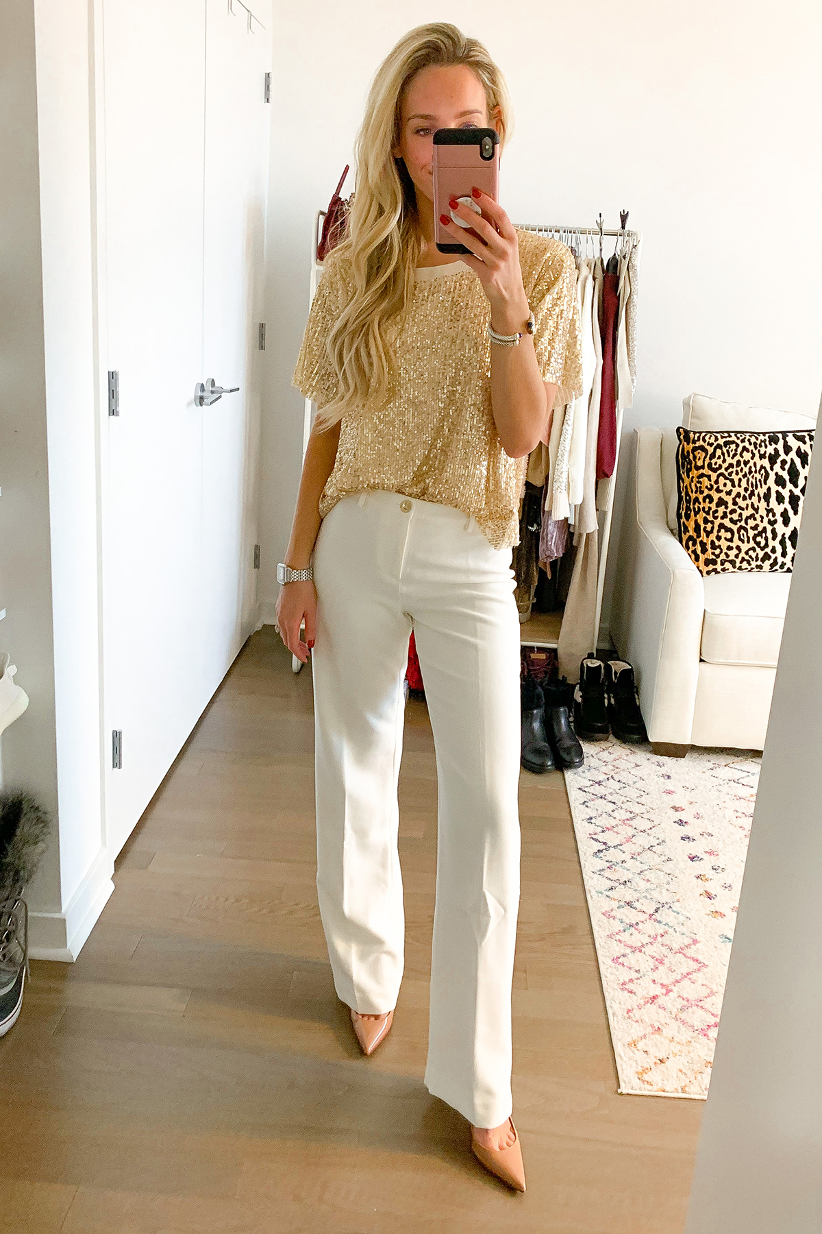 Lilly Pulitzer White Pants