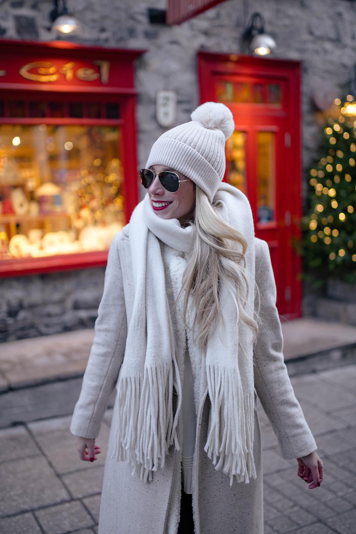 White Topshop Coat