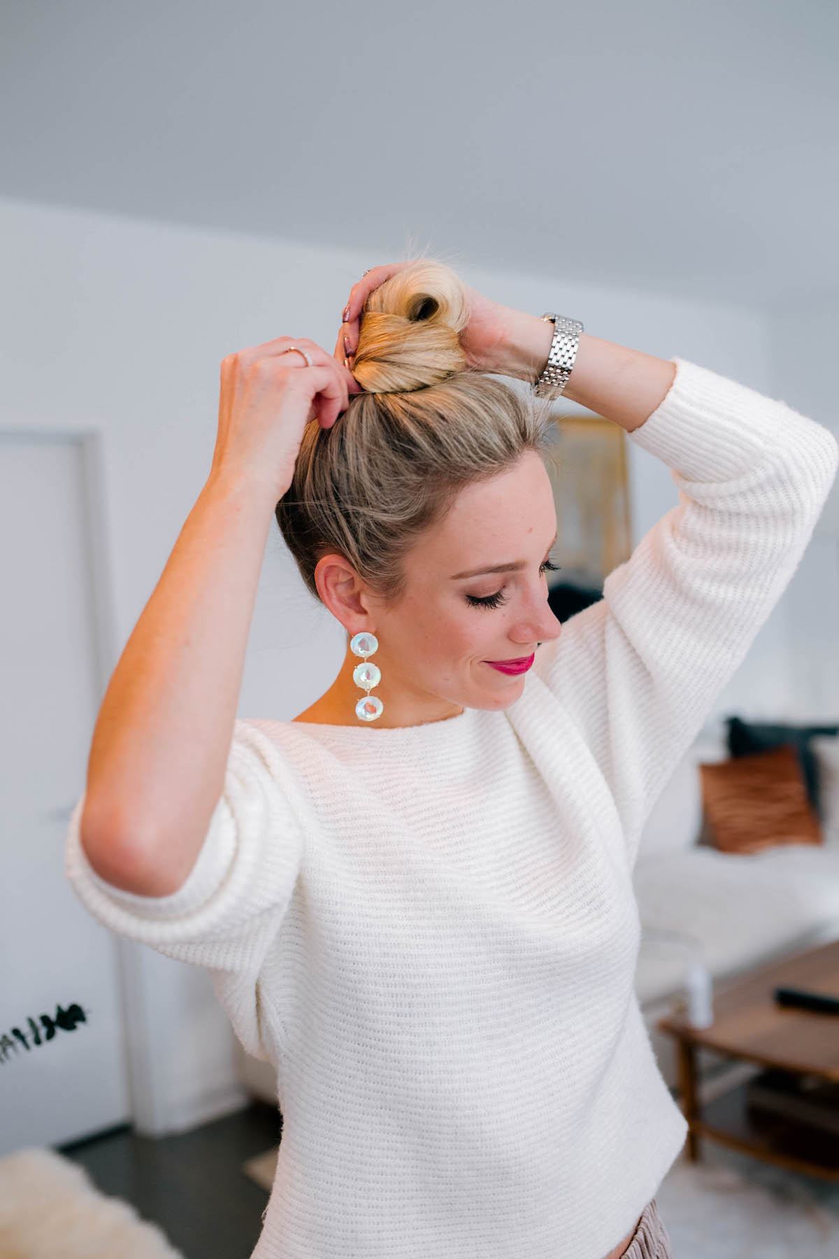 Katies Bliss Top Knot Tutorial