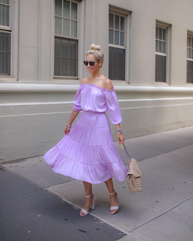 Lilly Pulitzer Jennie Off The Shoulder Midi Dress