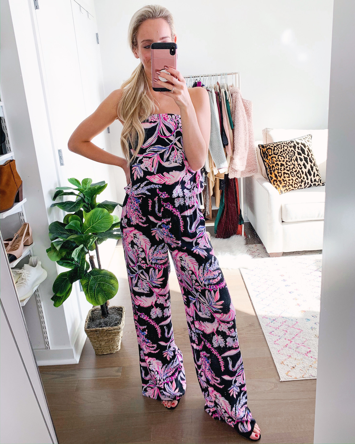Lilly Pulitzer Pim Strapless Jumpsuit