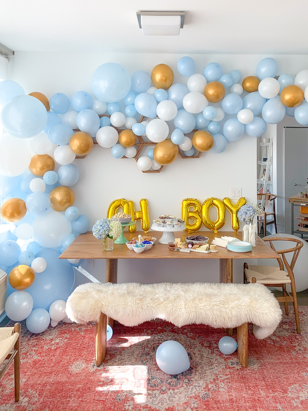 Katies Bliss Gender Reveal Party