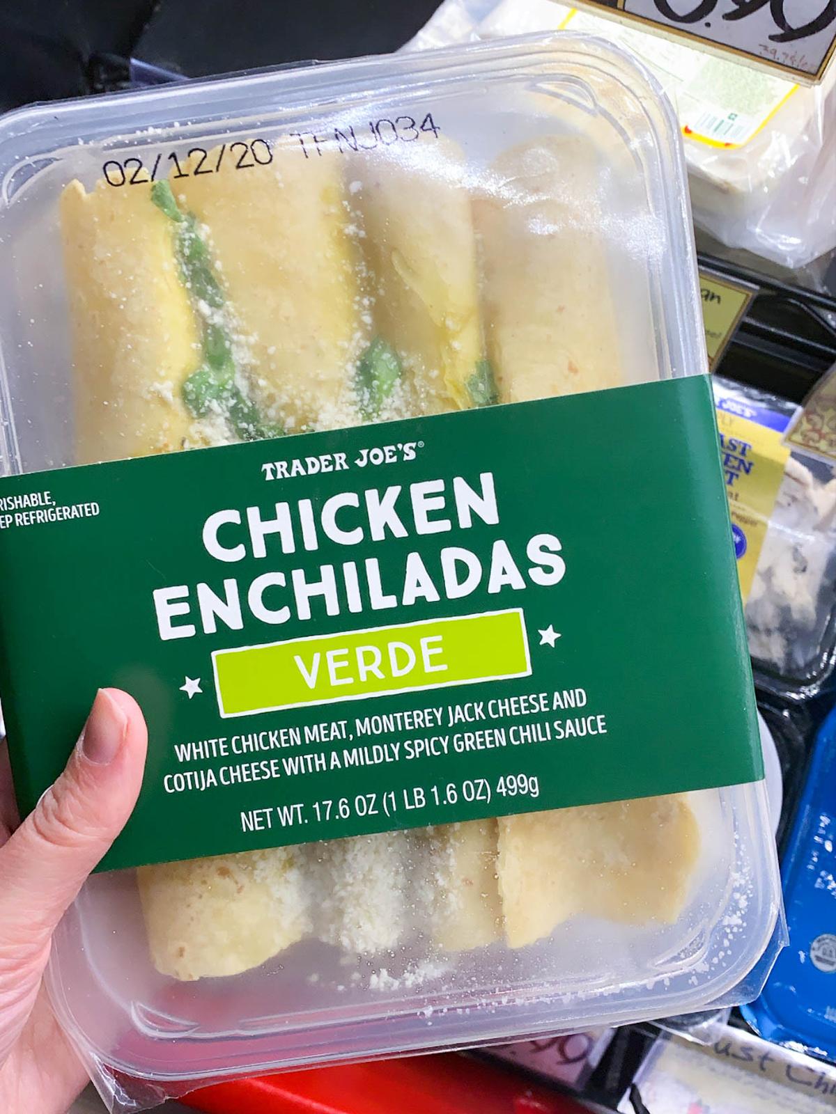 Trader Joes Chicken Enchiladas