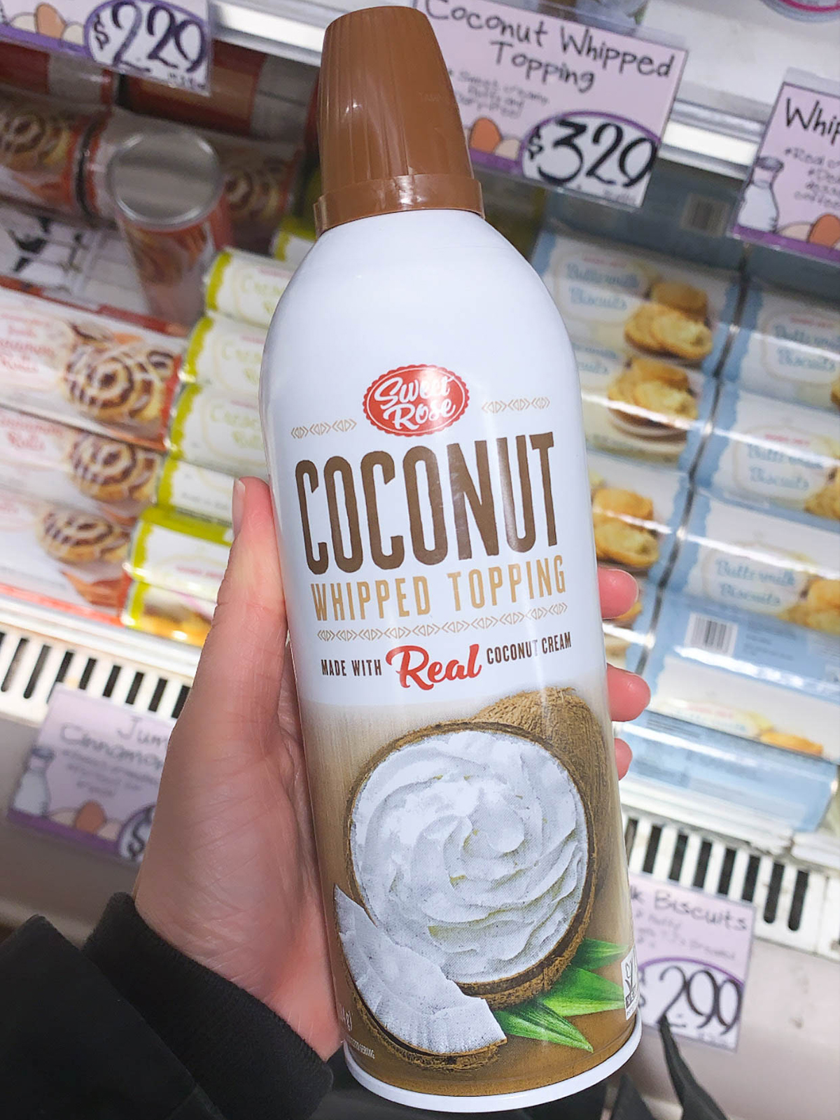 Trader Joes Coconut Whipped Topping
