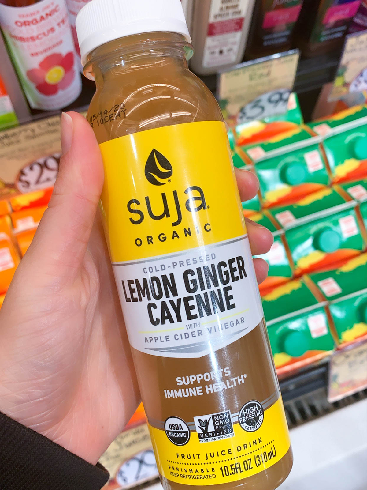 Trader Joes Cold Pressed Juice