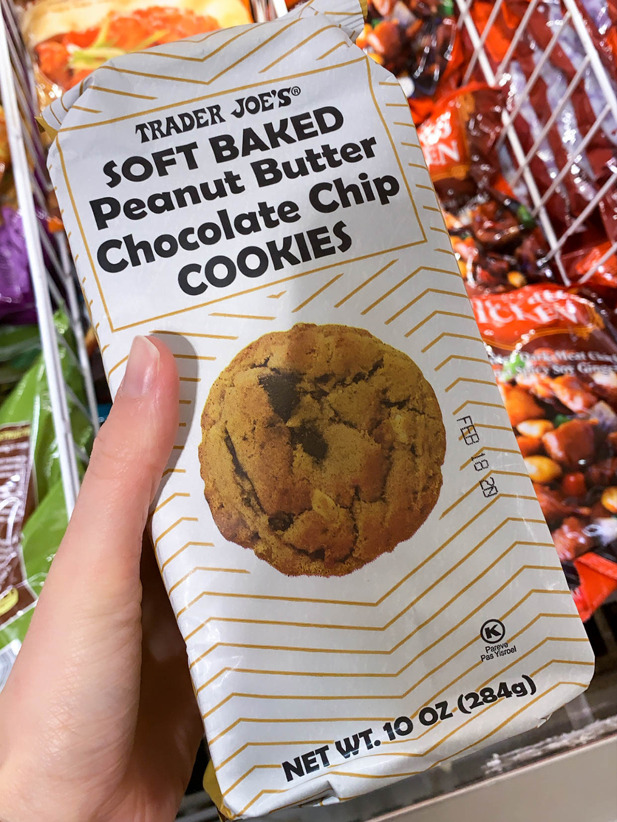 Trader Joes Peanut Butter Chip Cookies