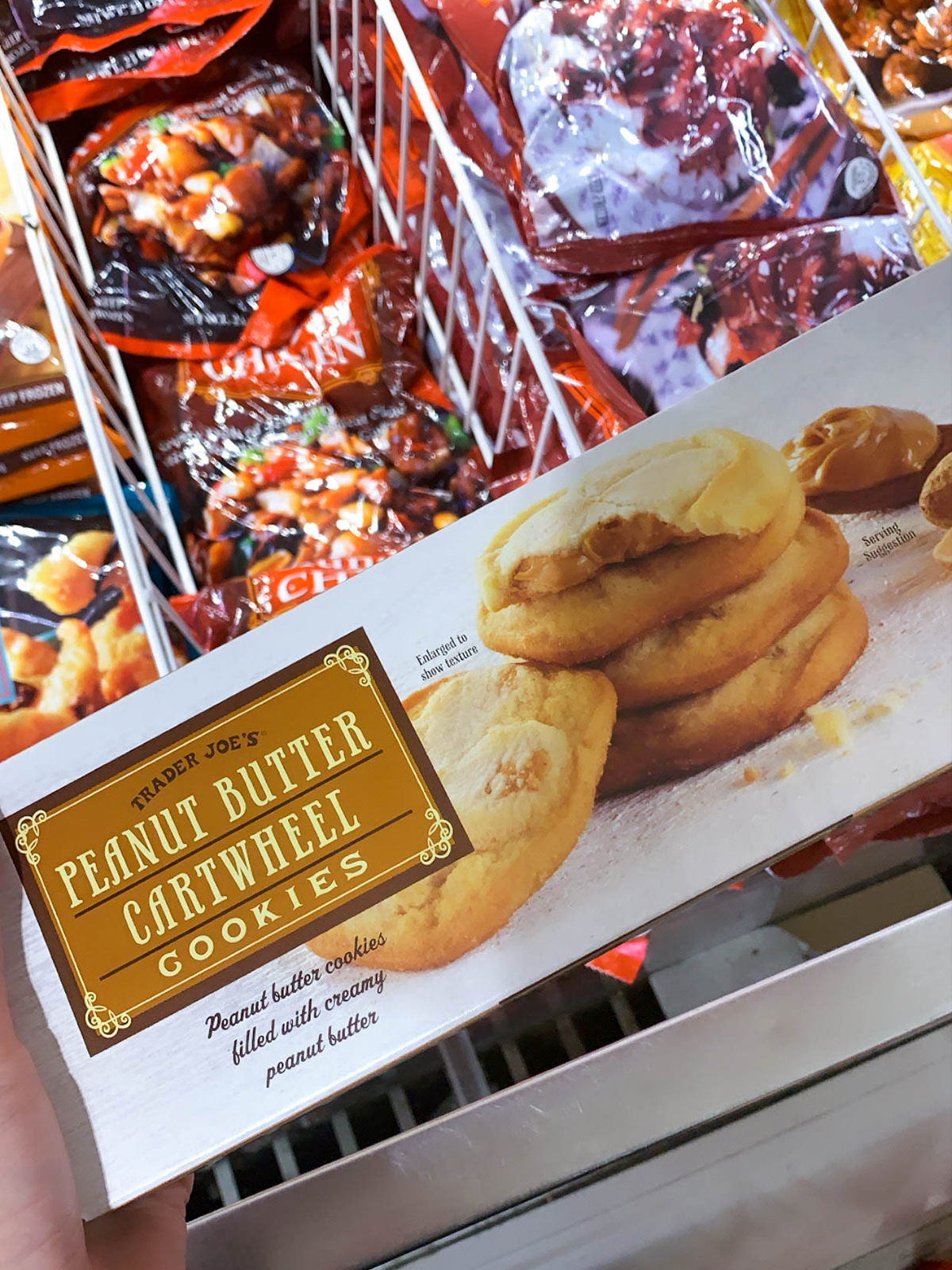 Trader Joes Peanut Butter Cookies