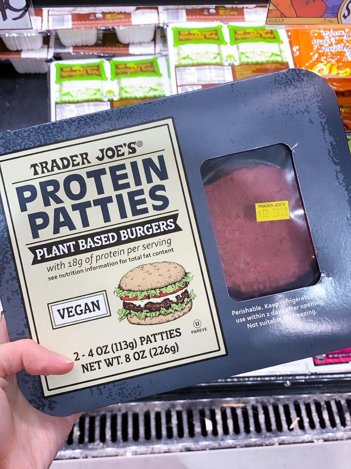 Trader Joes Plant Based Burgers