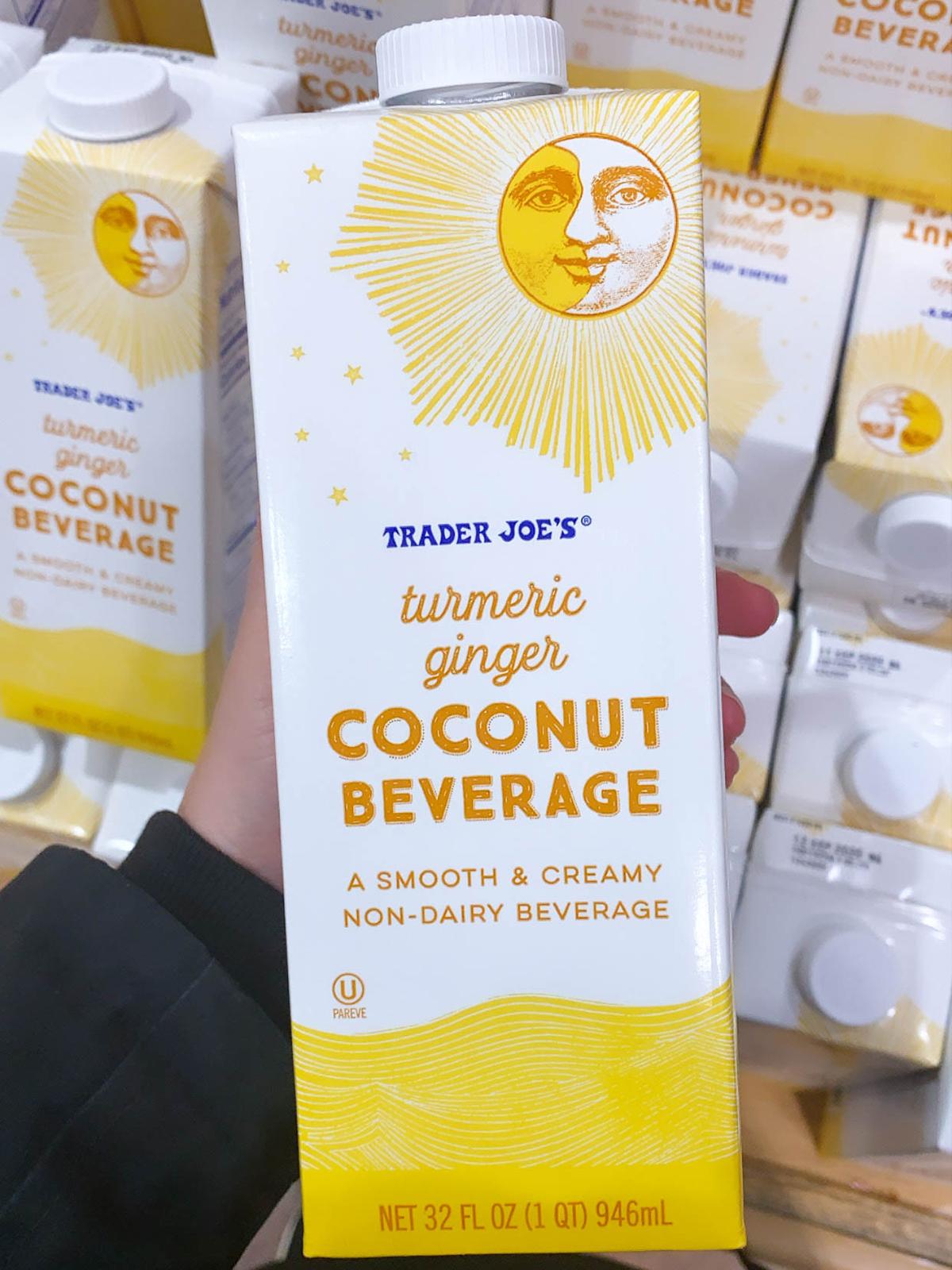 Trader Joes Turmeric Ginger Coconut Beverage