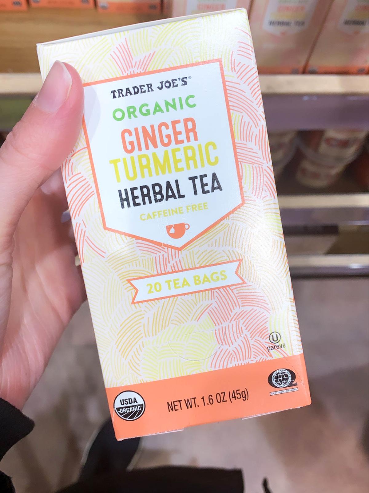 Trader Joes Turmeric Ginger Tea