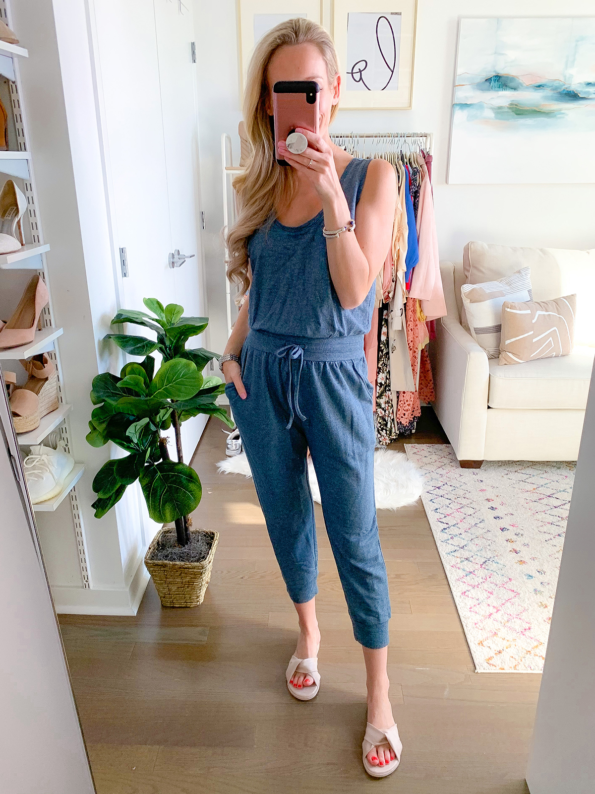 All in One Blue Jumpsuit