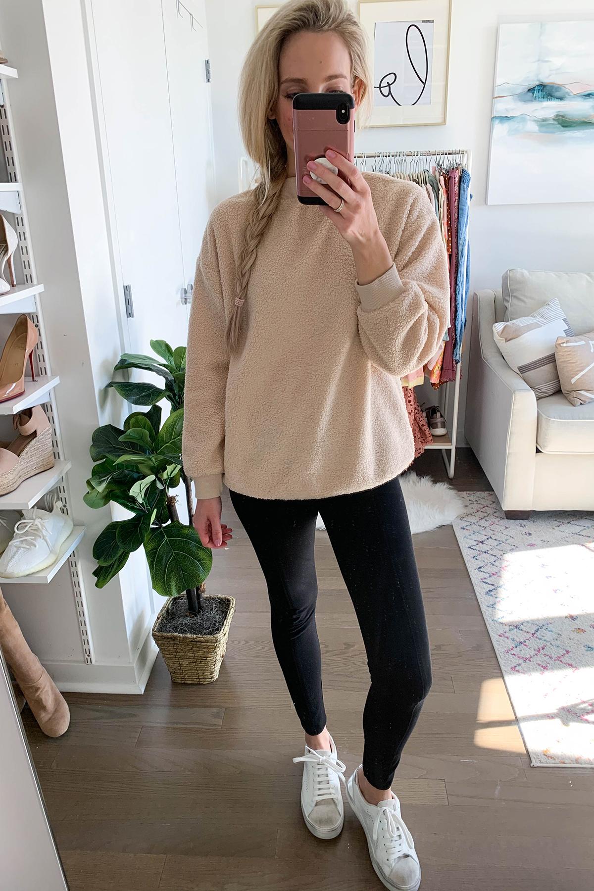 Fleece Pullover Sweatshirt