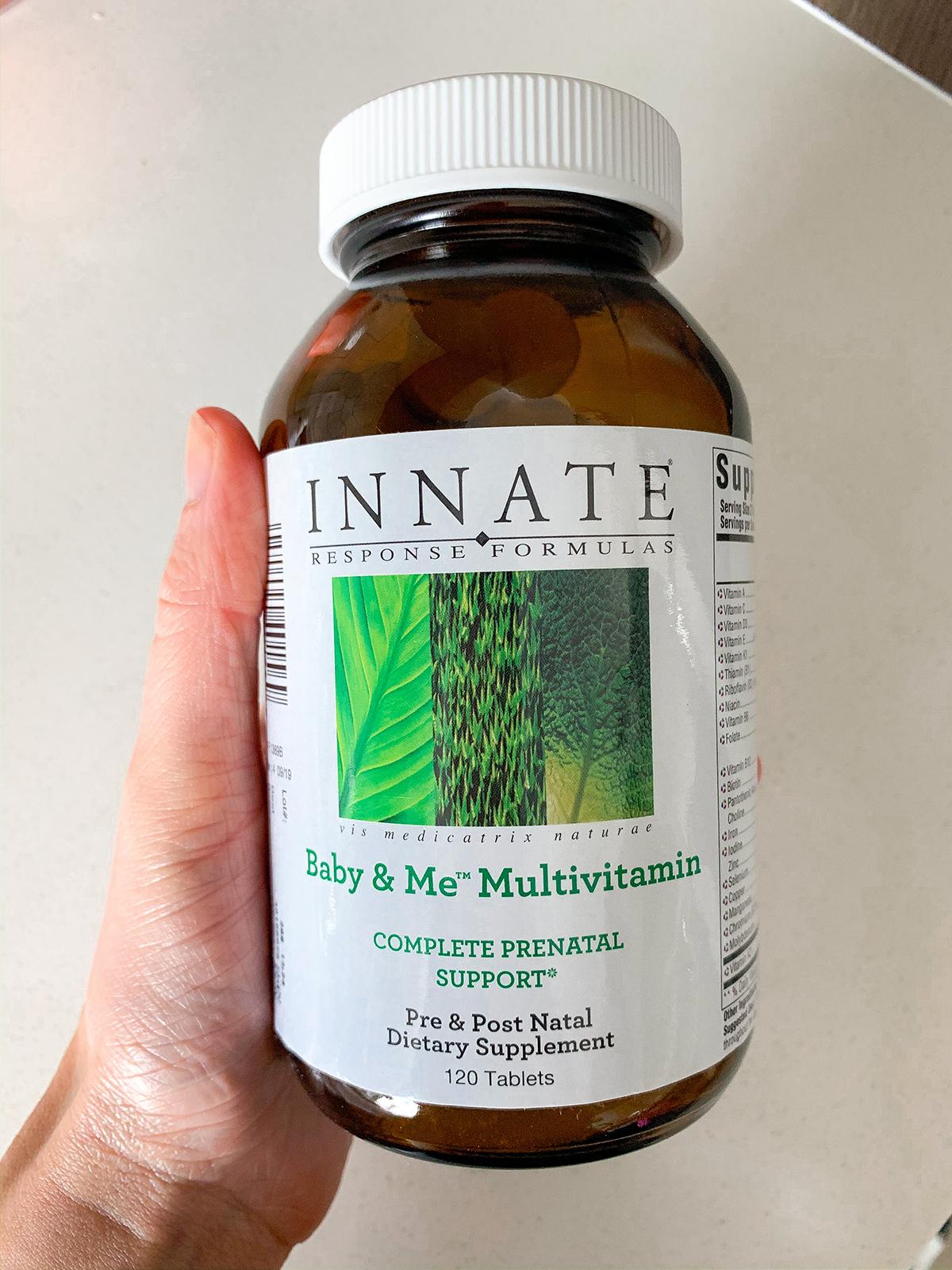 Innate Response Formulas Baby Me Multivitamin