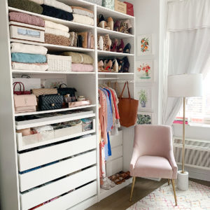 Katies Bliss Closet Organization