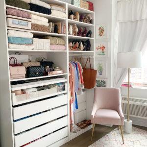Katies Bliss Closet Organization