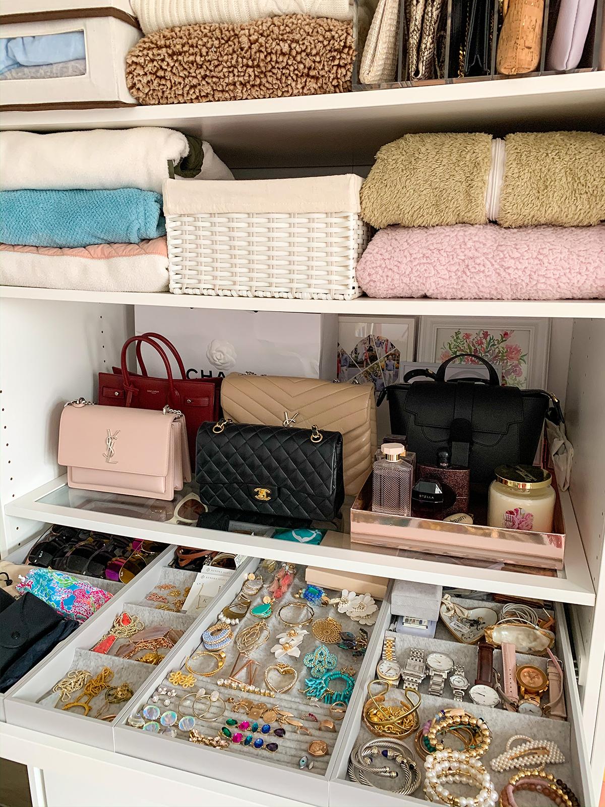 Custom Built In Closet Reveal Drawer Organization Tips Katie S Bliss