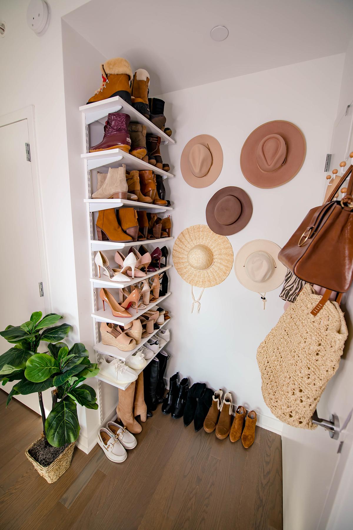 Katies Bliss Shoe Shelves
