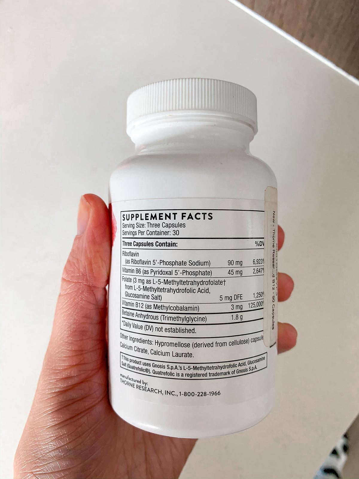 Thorne Methyl-Guard Plus Supplement