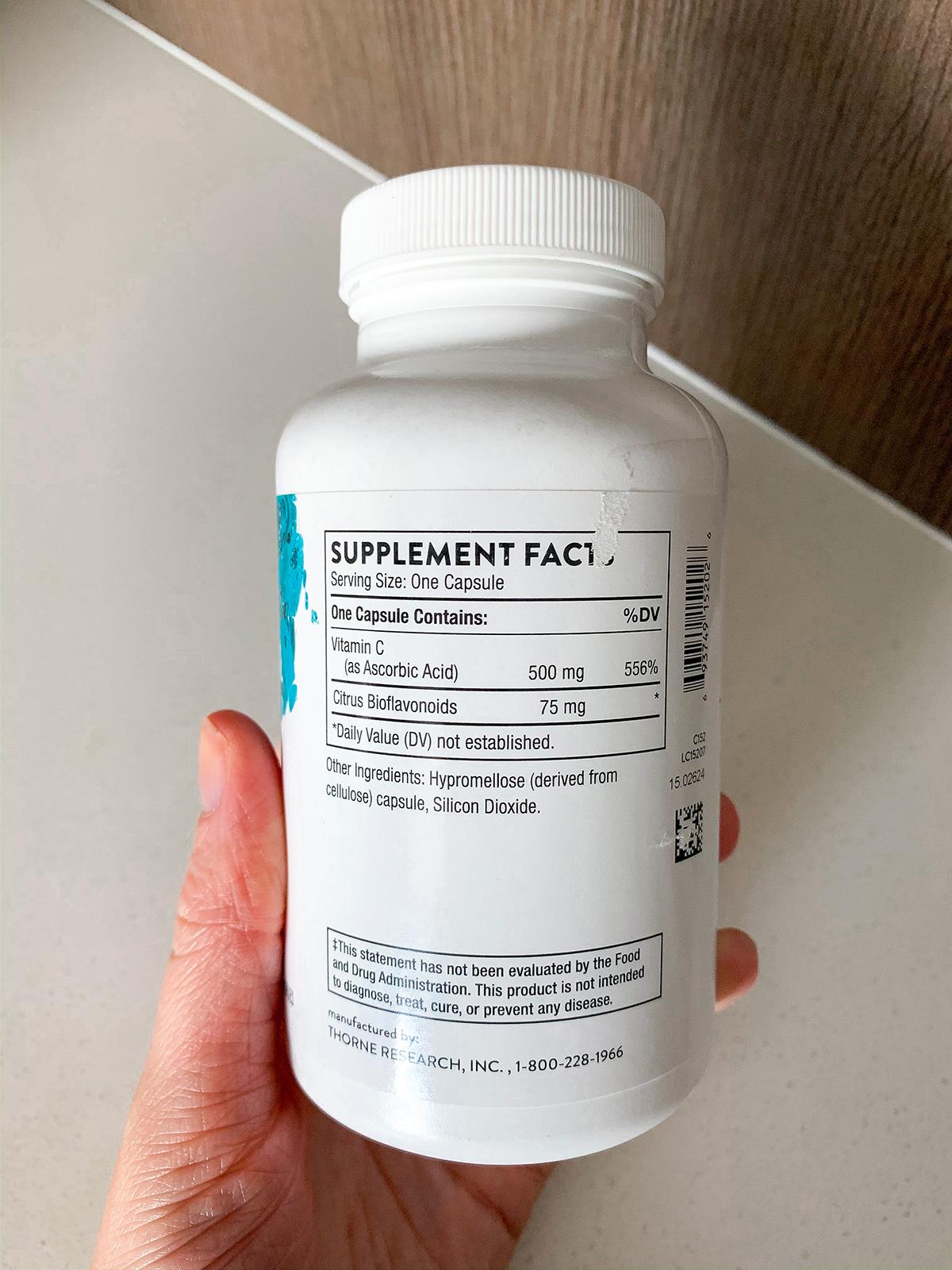 Thorne Vitamin C Supplement
