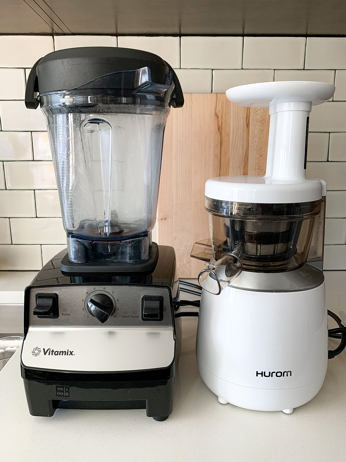 Vitamix and Juicer