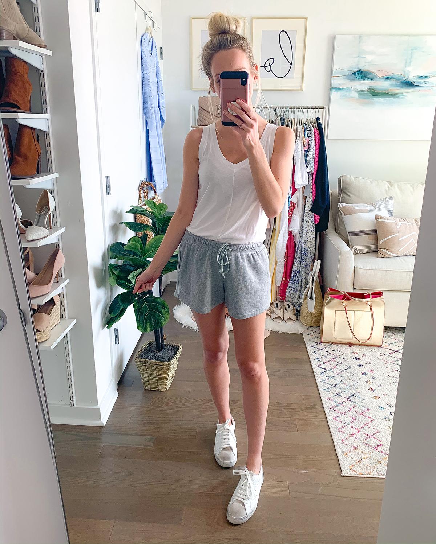 Gray Lounge Shorts