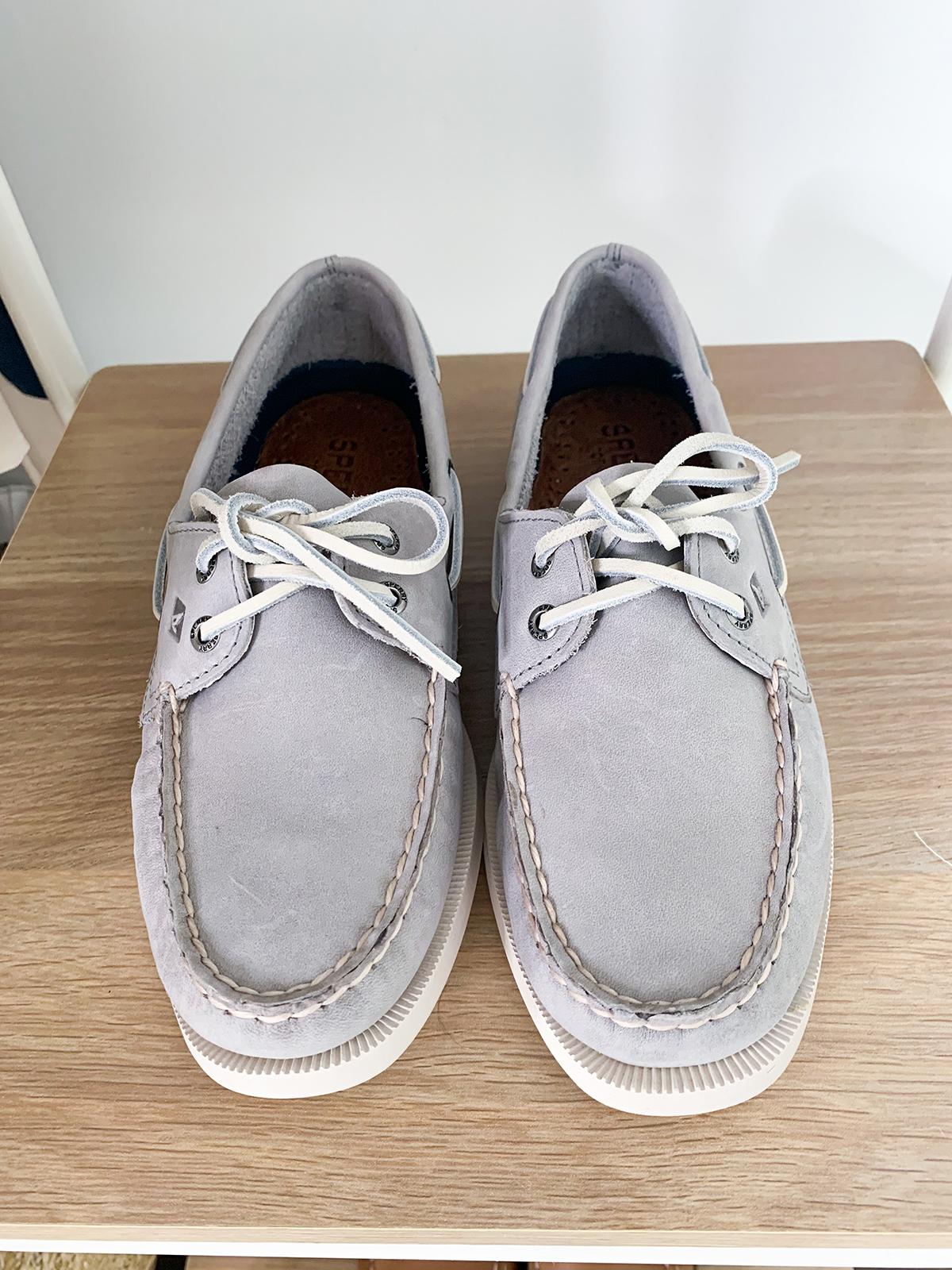 Sperry Women's Authentic Original Boat Shoe Gray