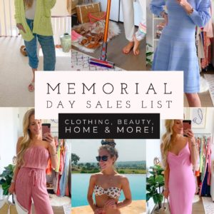 2020 Memorial Day Sales