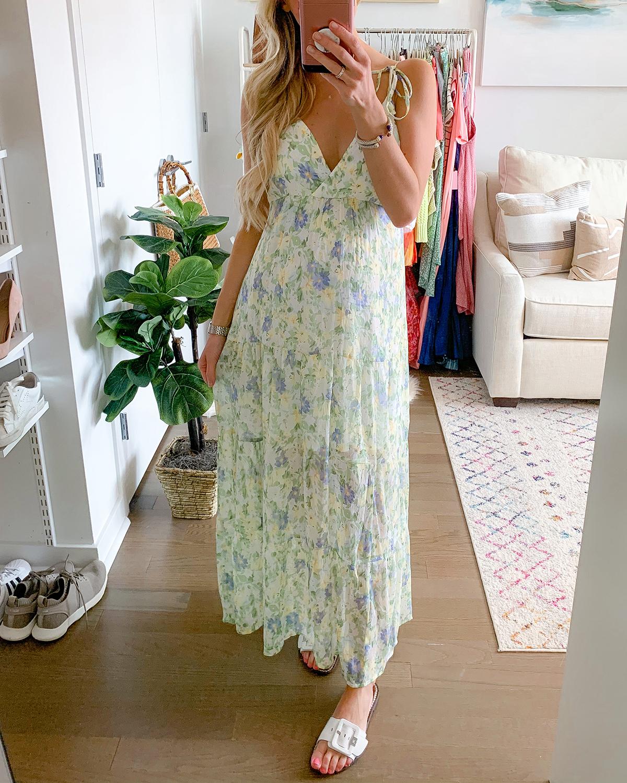 Abercrombie Love Struck Maxi Dress