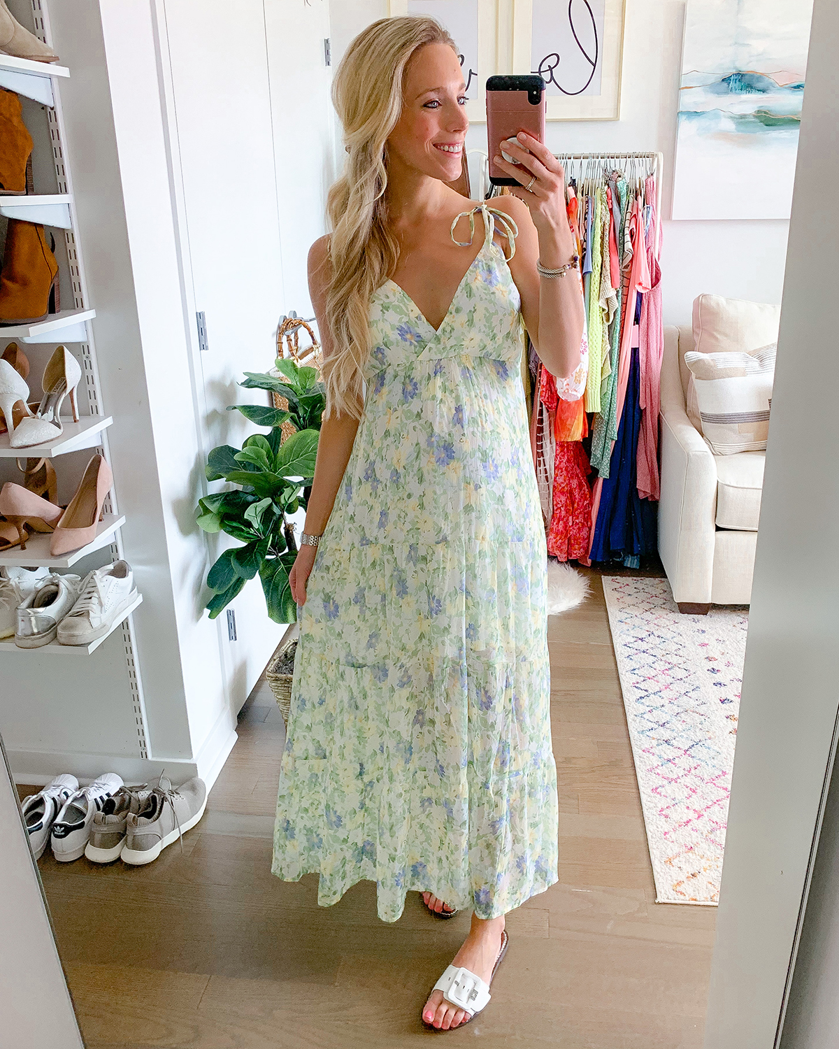 Abercrombie Love Struck Maxi Dress