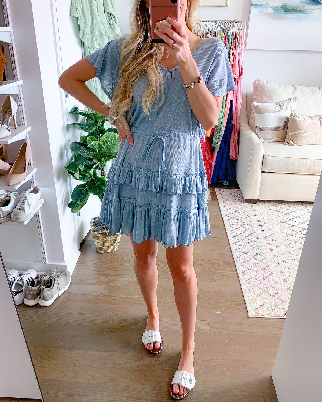 Free People Harper Mini Dress