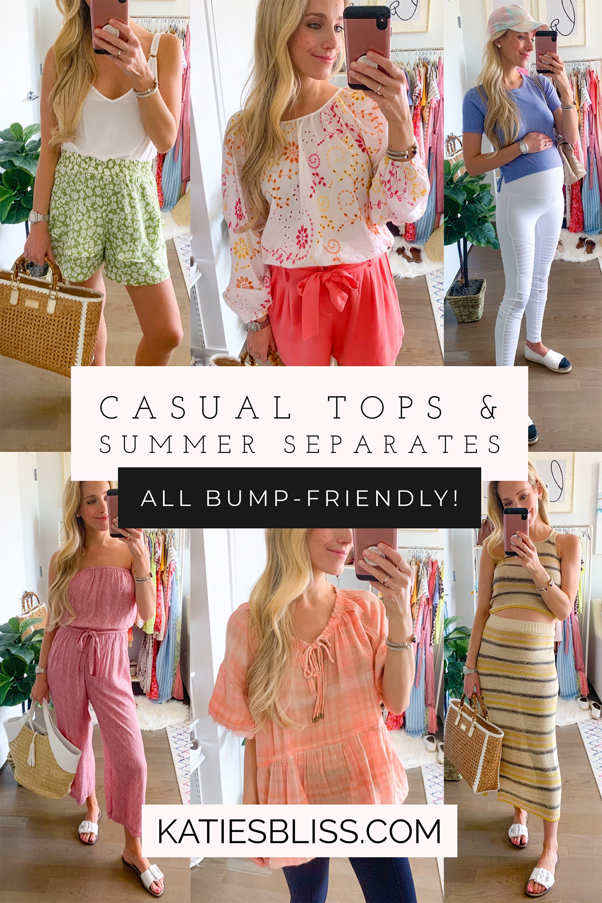 Katies Bliss Summer Tops and Separates