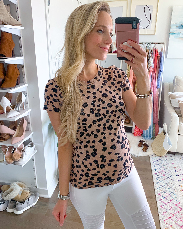 Revolve Michael Stars Leopard Tee