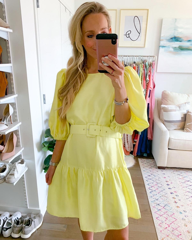 Vero Moda Loui Belt VIP Dress