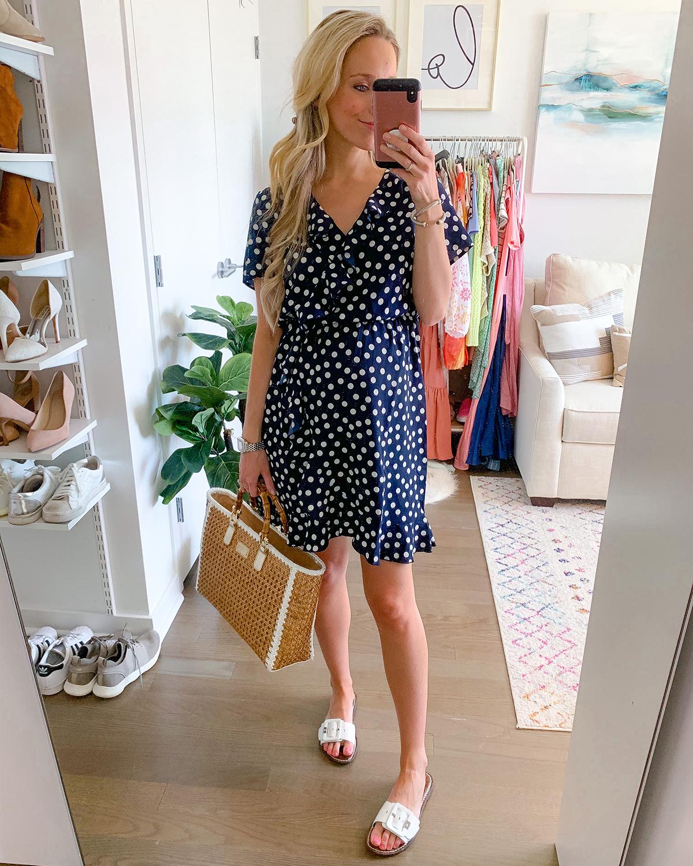 Vero Moda Olivia Frill Short Sleeve Minidress