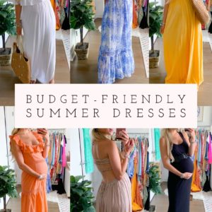 Budget Friendly Summer Dresses June 2020