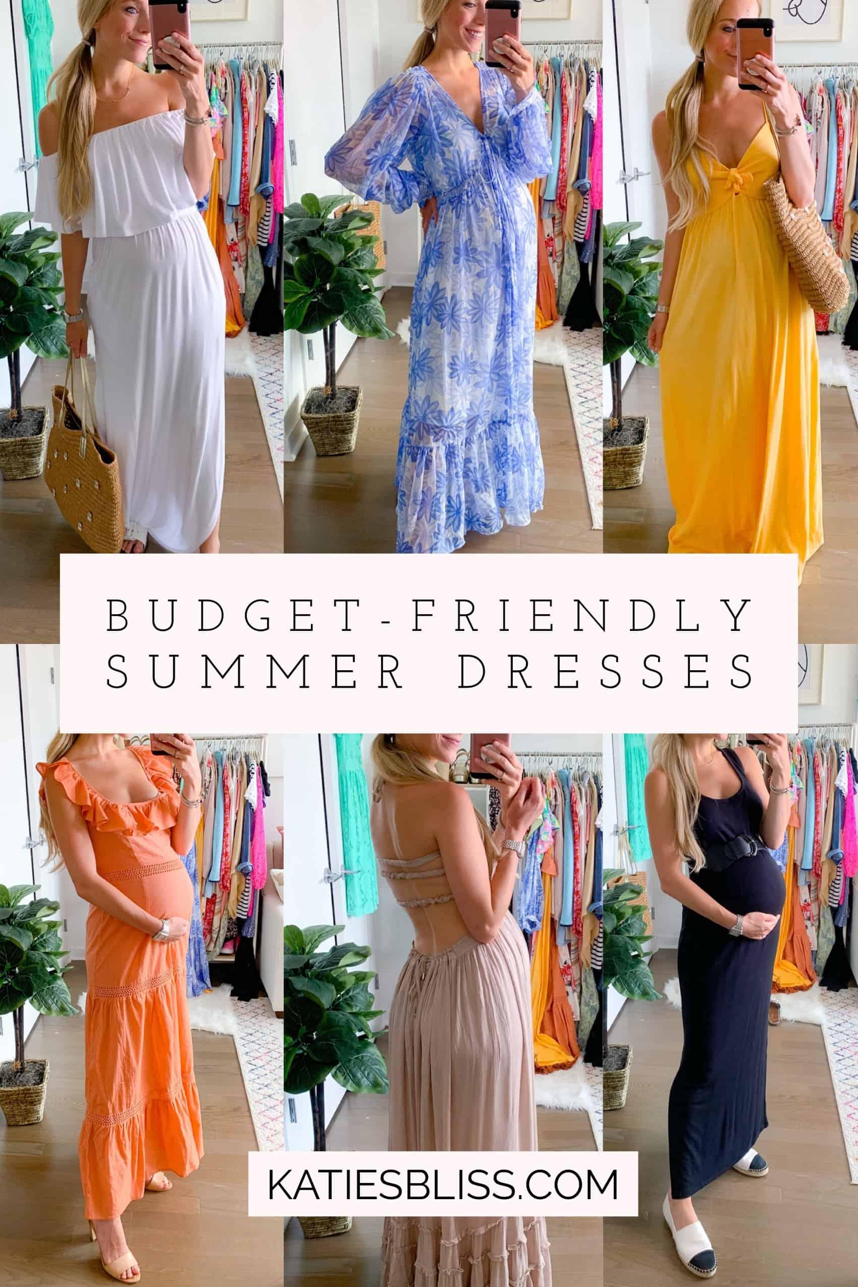 Budget Friendly Summer Dresses June 2020