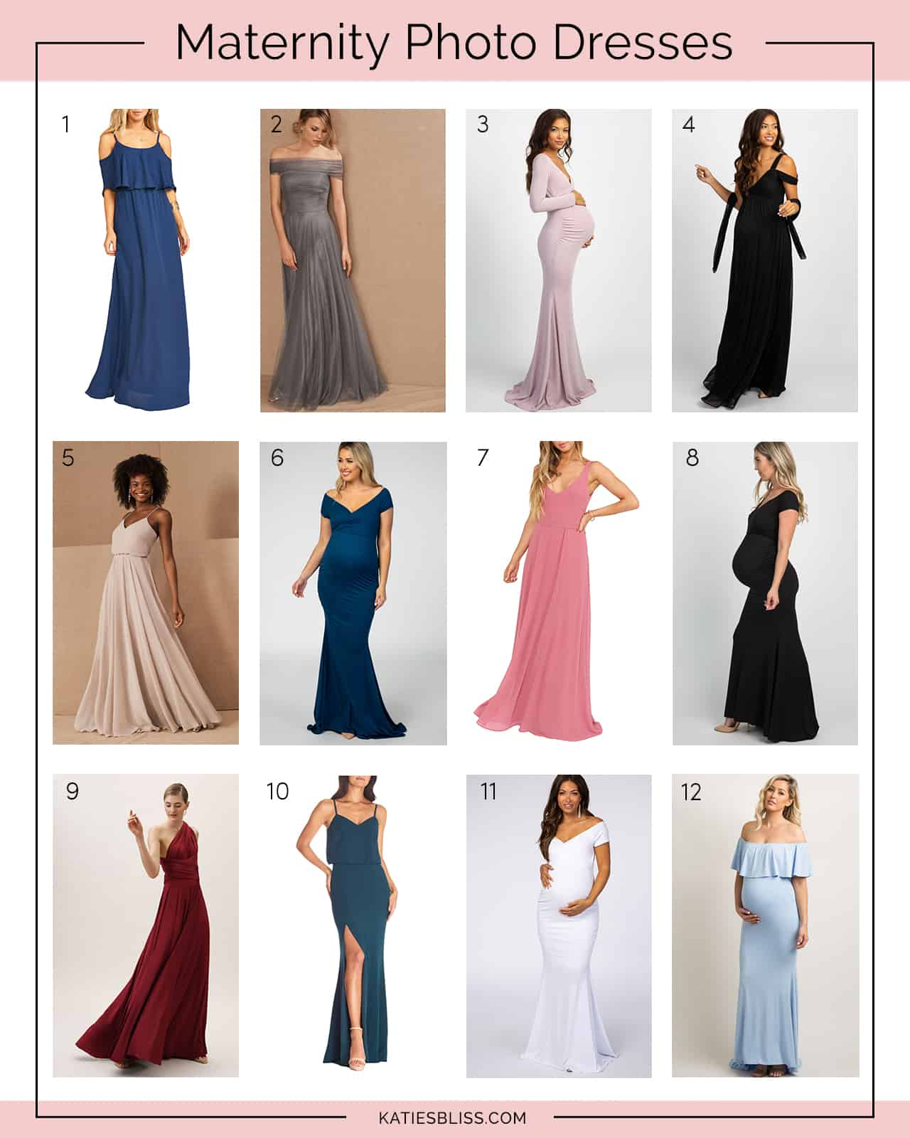 Where To Buy Maternity Photo Dresses Katie S Bliss