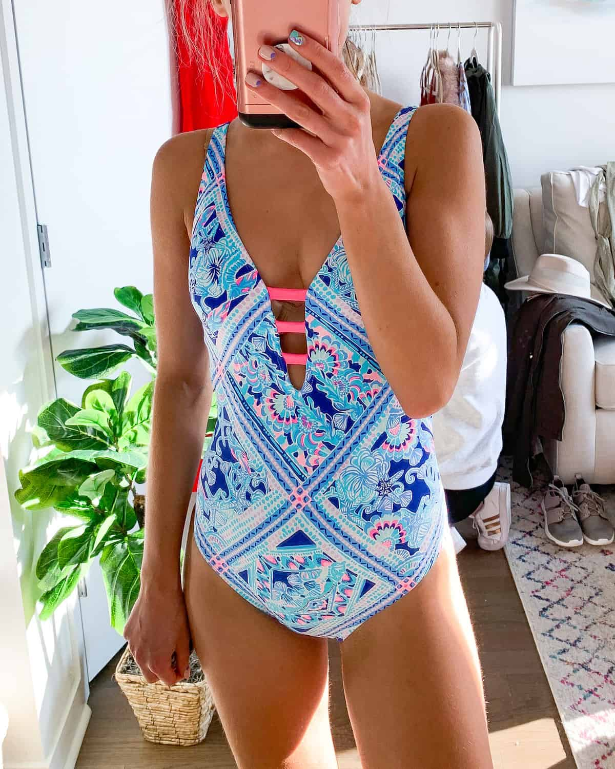 Lilly Pulitzer Jaspen One Piece Swimsuit